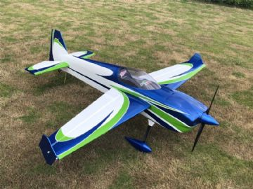 "NEW  Skywing 89"" Laser260-V2-B BLUE/GREEN Covered"